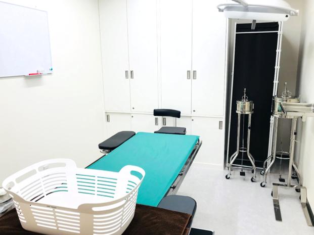 処置室へ移動 治療