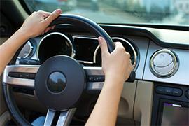 車の運転イメージ図